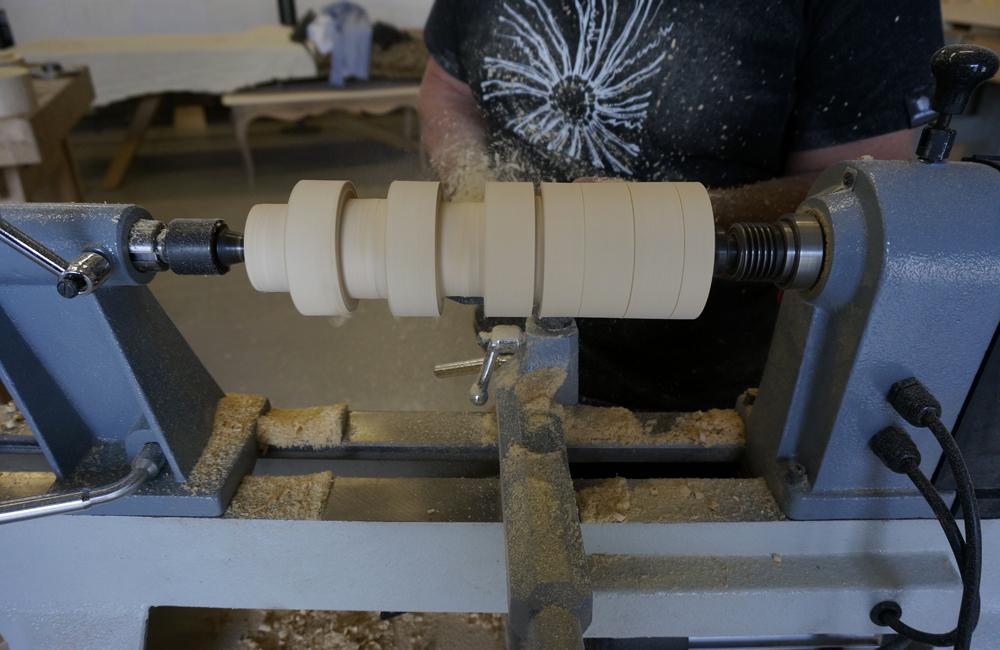 Utensili base per cominciare a tornire il legno